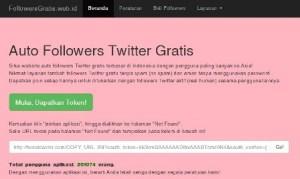 Mendapatkan Follower Twitter Otomatis
