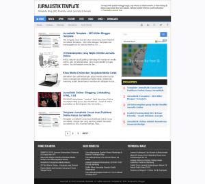 Jurnalistik Template - Template Blog Seo Friendly